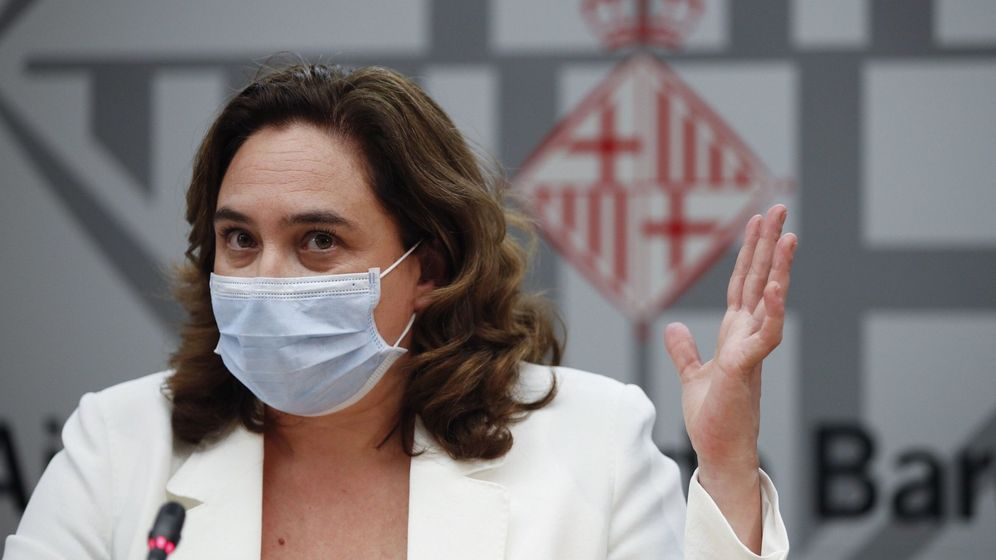 Foto: La alcaldesa de Barcelona, Ada Colau (EFE)
