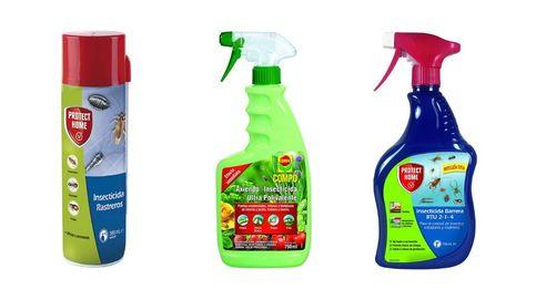 Los insecticidas para controlar plagas de insectos voladores y rastreros en casa