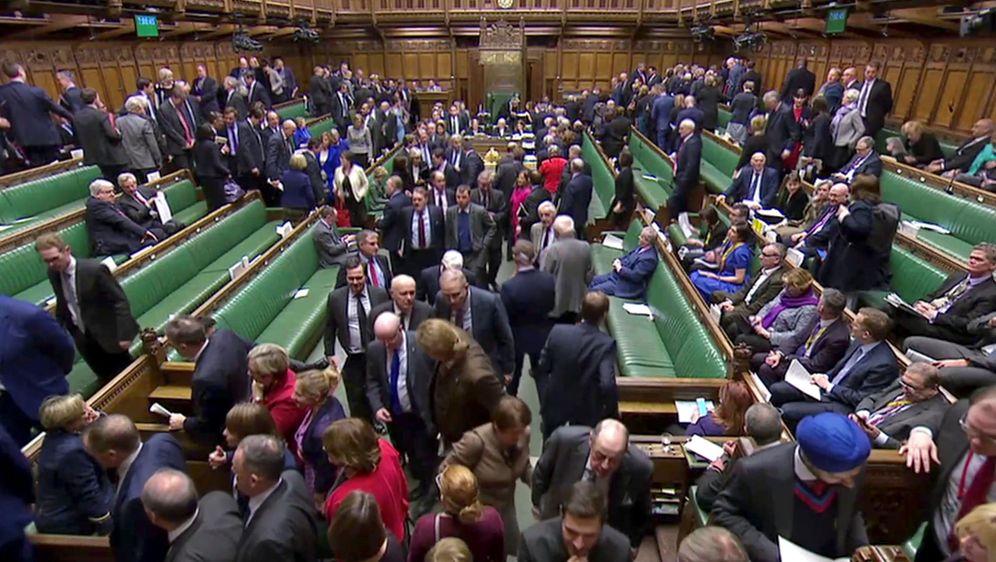 Foto: Diputados en el Parlamento británico, en Londres. (Reuters)