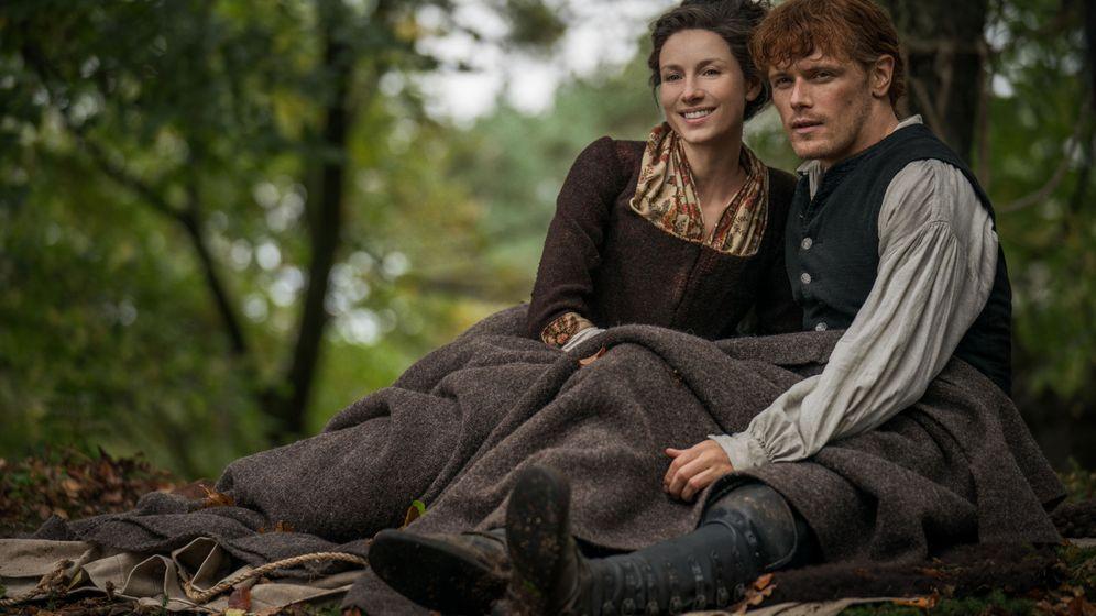 Foto: Imagen de los protagonistas de 'Otlander'. (Starz)
