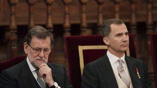 Así se las ponen a Rajoy: como a Fernando VII