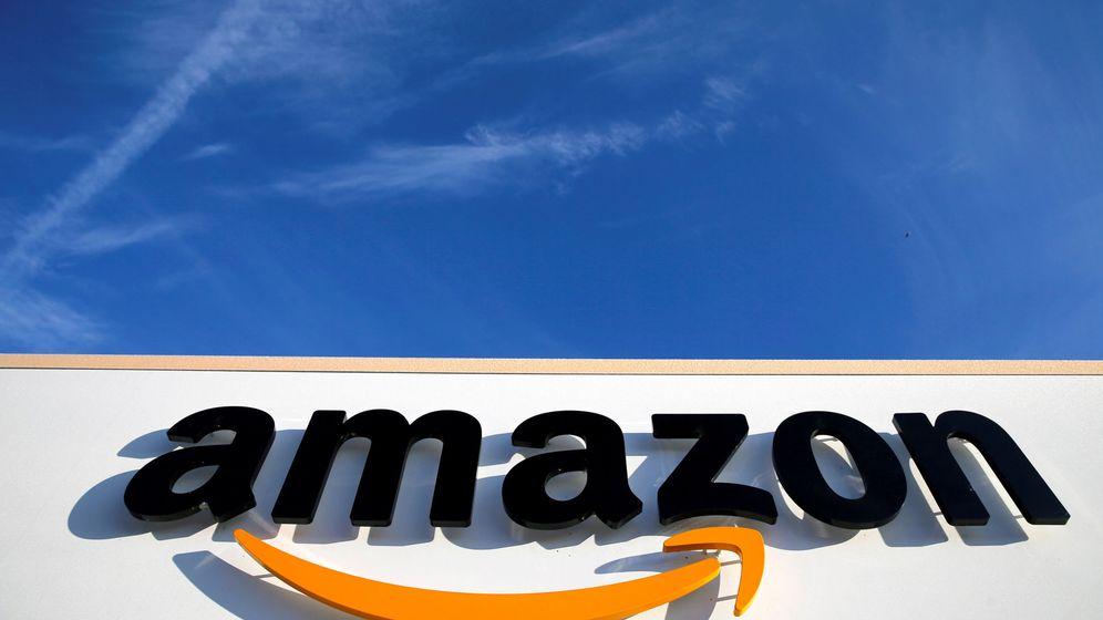 Foto: El logo de Amazon. (Reuters)