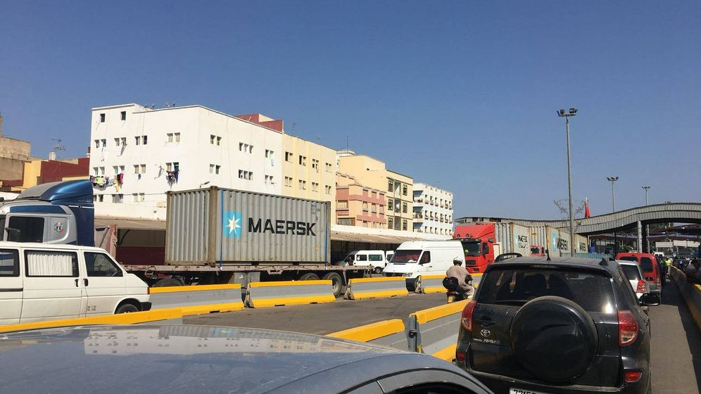 Foto: Cierre de la aduana comercial de Melilla. (EC)