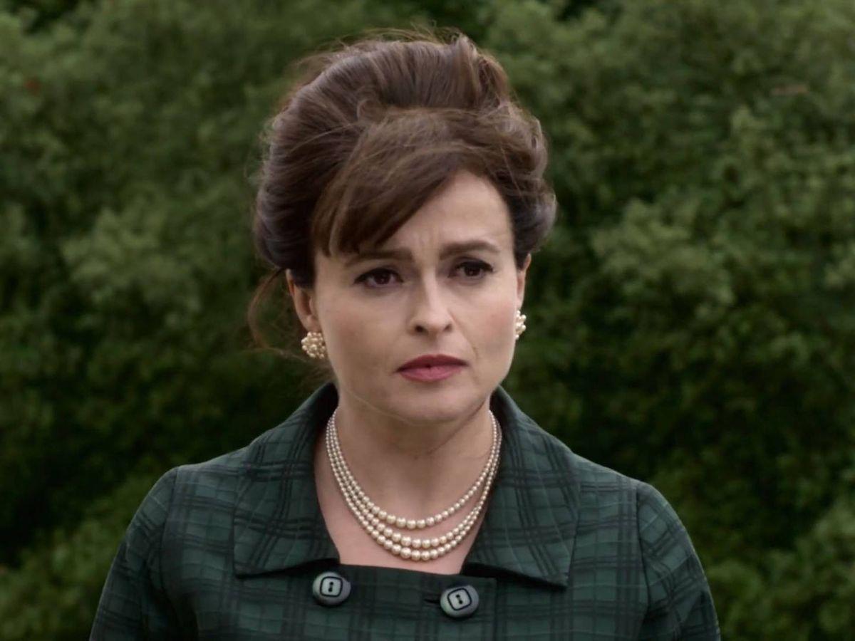 Foto:  Helena Bonham Carter, en 'The Crown'. (Netflix)