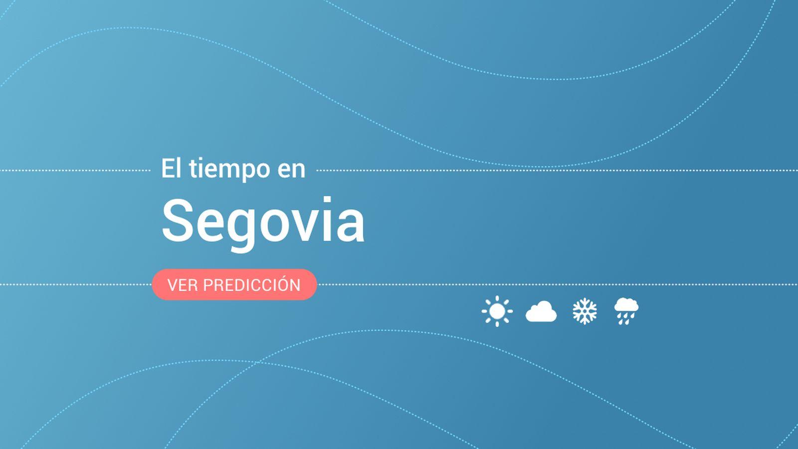 Foto: El tiempo en Segovia. (EC)