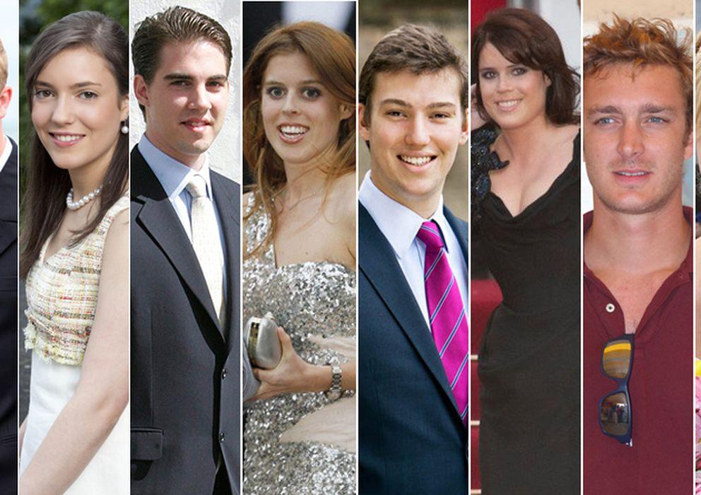 Foto: Teodora, Joaquín, Alexandra, Phillipos, Beatrice, Sebastián, Eugenia, Pierre, Maria Laura y Harry