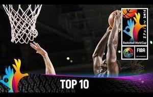 Las 10 mejores jugadas de la Copa del Mundo de Baloncesto