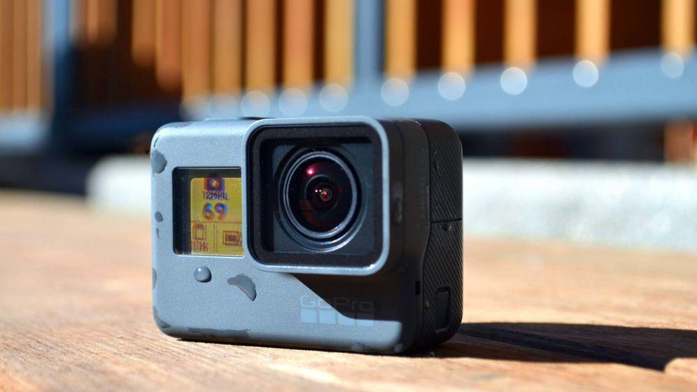 Foto: La nueva GoPro Hero5 Black. (Foto: Pablo Ortega)
