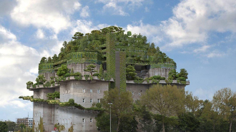 Grupo NH operará un hotel en la azotea de un antiguo búnker en Hamburgo (Alemania)