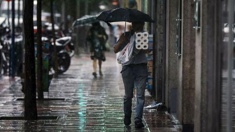 Las mejores fotos de las fuertes lluvias en España