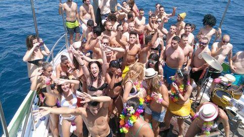 Las imágenes de la despedida de soltera en un barco... que acabó en auténtica odisea