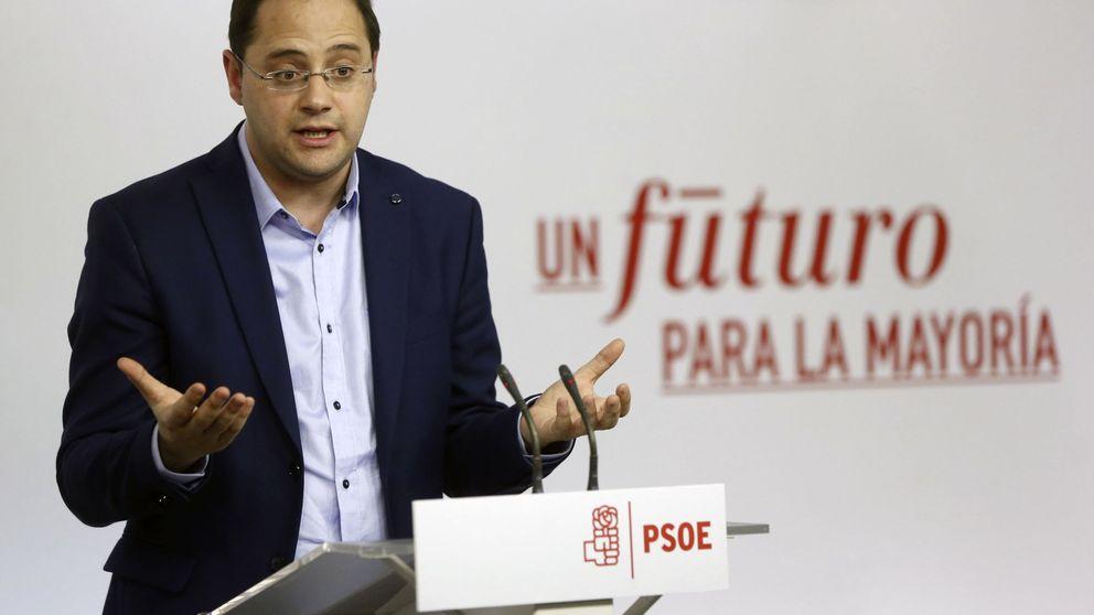 César Luena: el veto de Podemos conduce a que siga gobernando Rajoy