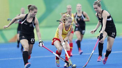 España sigue sin conseguir la victoria en el hockey femenino
