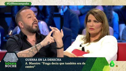 Antonio Maestre y María Claver, a gritos en 'La Sexta noche': Eso pasa en Cuba