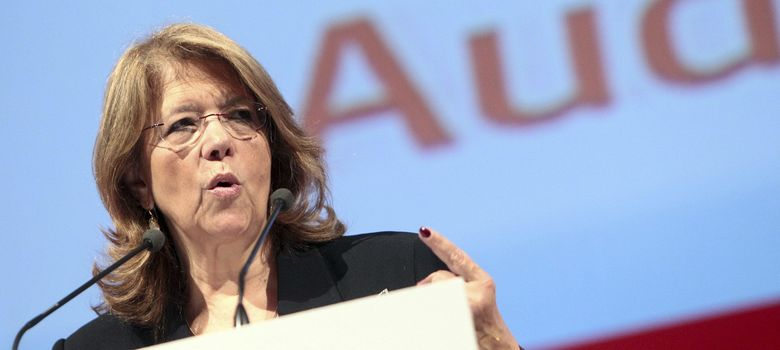 Foto: La presidenta de la CNM, Elvira Rodríguez. (EFE)