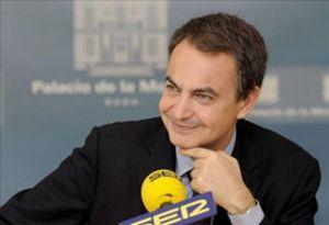 """Zapatero: """"La salida de Corbacho del Gobierno es una petición de Montilla"""""""