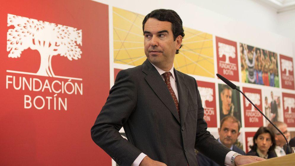 Foto: Javier Botín durante un acto de la Fundación familiar, de la que es presidente. (EFE)