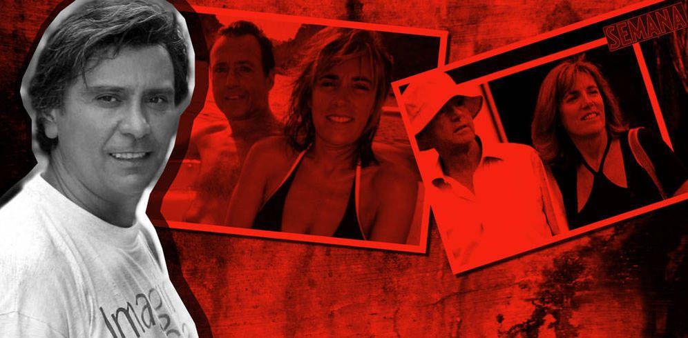 Foto: Fernando Sacristán, Matías Prats y Ruth Izcue en un fotomontaje de Vanitatis
