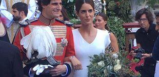 Post de Sofía Palazuelo: tenemos las primeras fotos de su vestido de novia