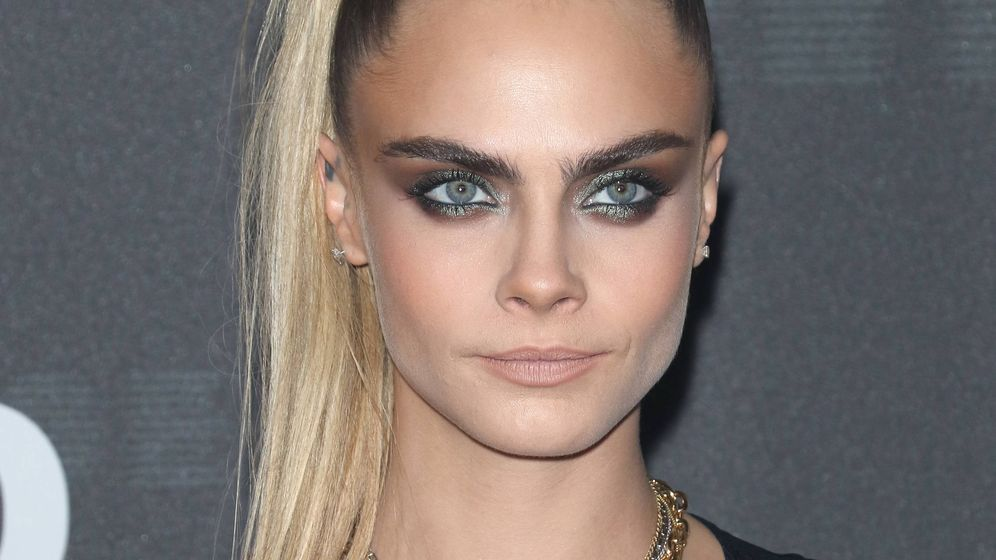 Foto: Cara Delevingne, en Nueva York. (Getty)