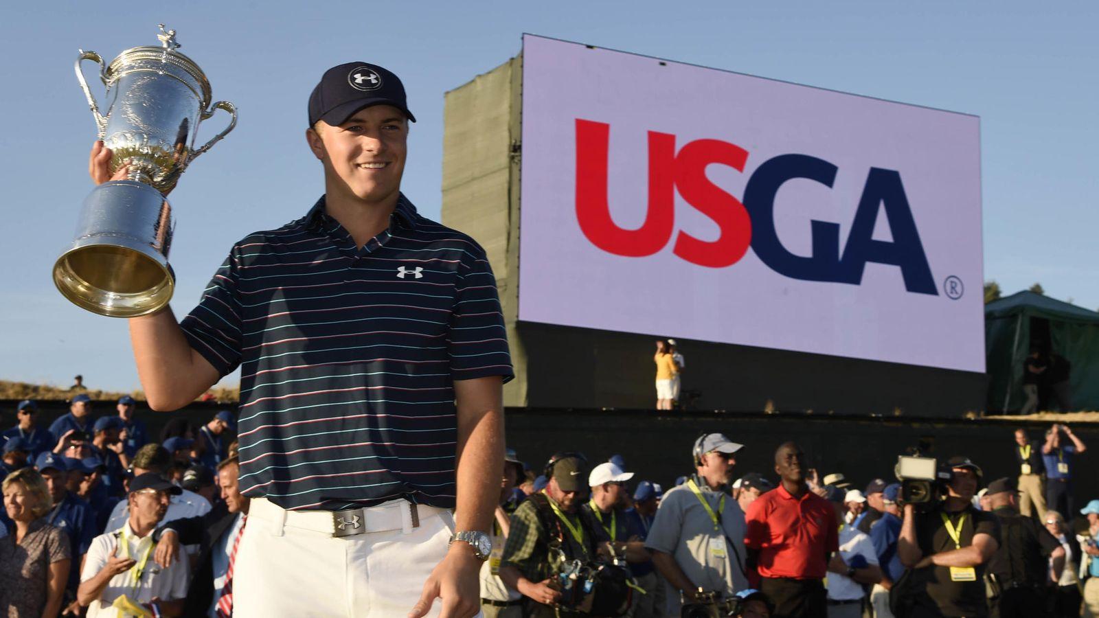Foto: Spieth es el jugador más joven en ganar el Masters y el US Open (Reuters)