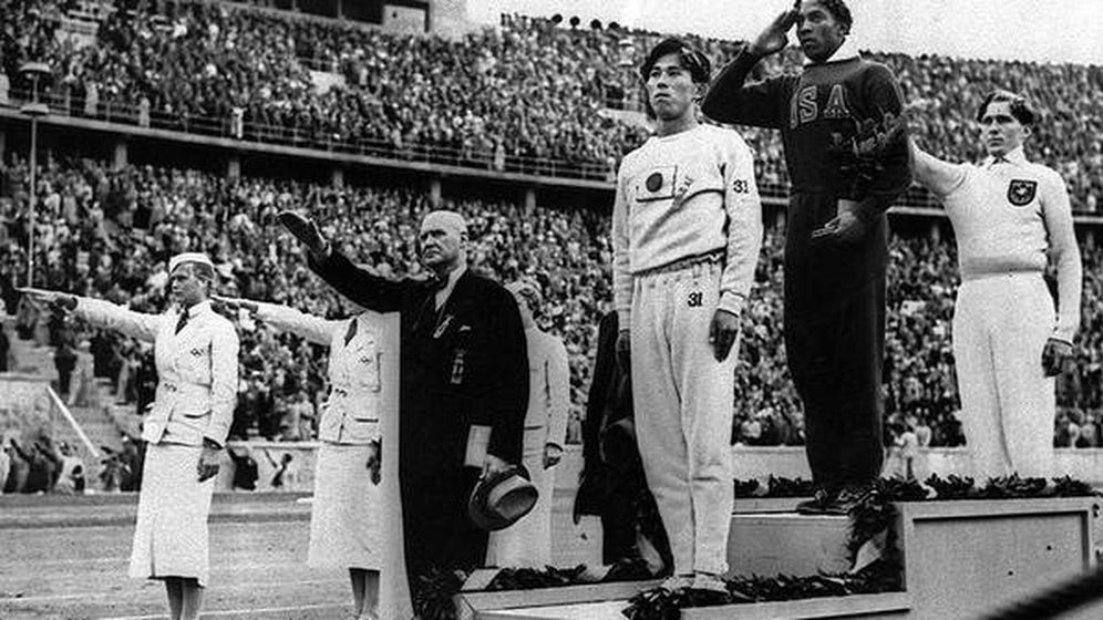 Foto: Jesse Owens en Berlín 1936
