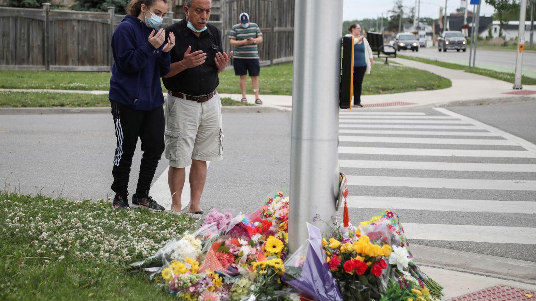 Un hombre de 20 años atropella de forma premeditada a una familia musulmana en Canadá