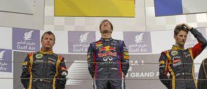 Foto: Vettel vence un GP de Bahrein en el que Alonso consiguió un 'gran' octavo puesto