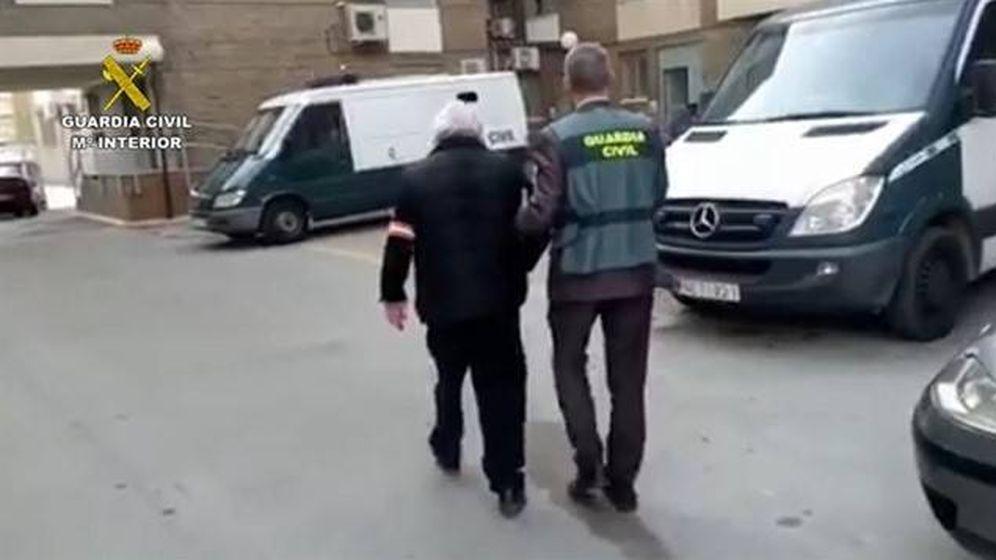 Foto: Imagen de la detención. (Guardia Civil)