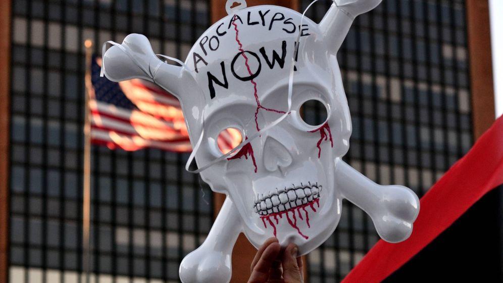 Foto: Manifestaciones contra Trump en Philadelphia. (Reuters)