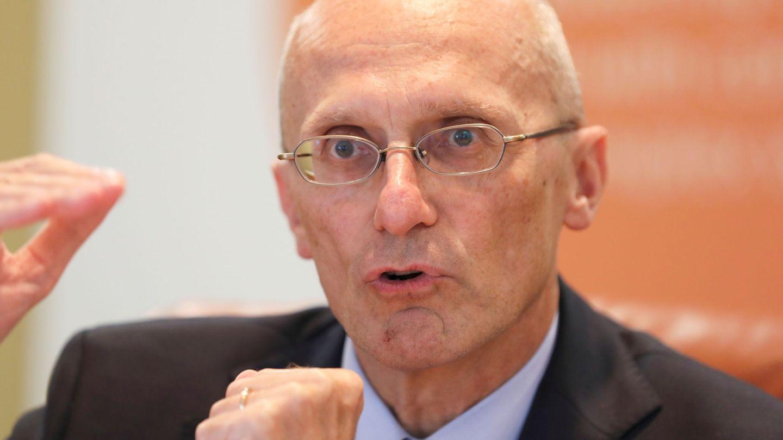 Andrea Enria, presidente del Mecanismo Único de Supervisión (MUS), del BCE. (Reuters)