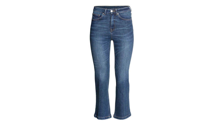 Vaqueros cropped flare, apréndete el nombre de los jeans del momento ...