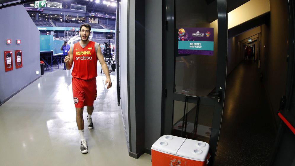 Foto: Álex Abrines no viajará con la selección a Estambul para la fase final del EuroBasket. (EFE)
