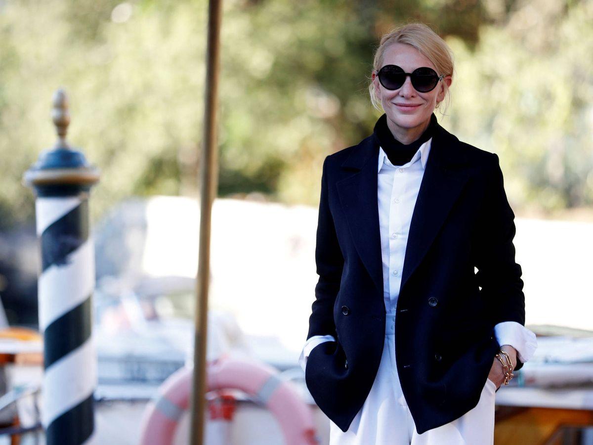 Foto: Cate Blanchett, a su llegada al Festival de Cine de Venecia. (Reuters)