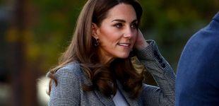 Post de Kate Middleton brilla también sin Meghan: look clásico y relajado en su último acto