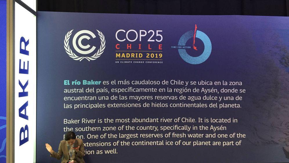 Foto: Una de las asistentes a la cumbre COP25 Chile/Madrid (A.V)