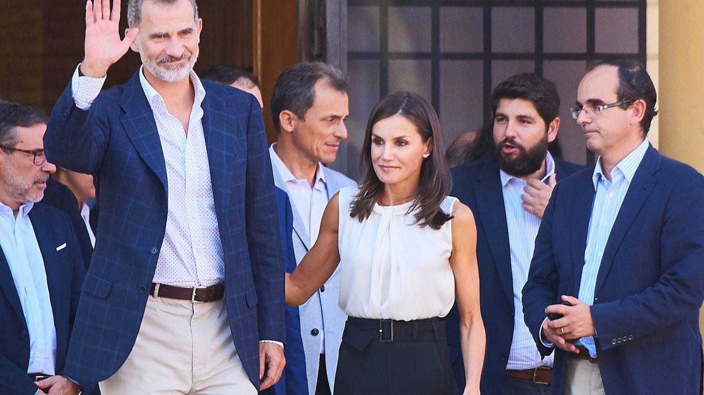 Los Reyes, junto a Martínez. (LP)