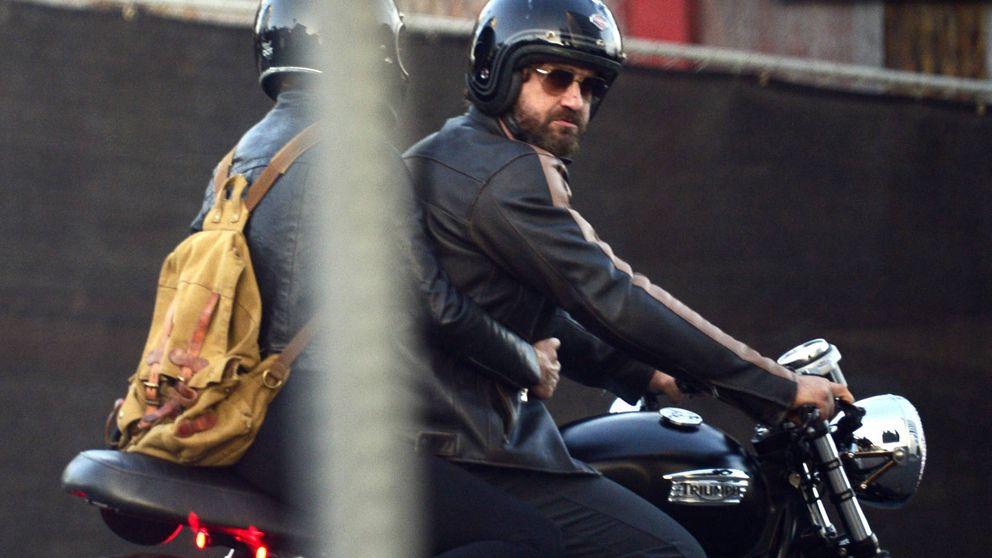 Gerard Butler, herido tras un grave accidente de moto