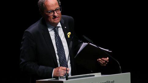 Quim Torra deja fuera de la Diada a los catalanes ajenos a la independencia