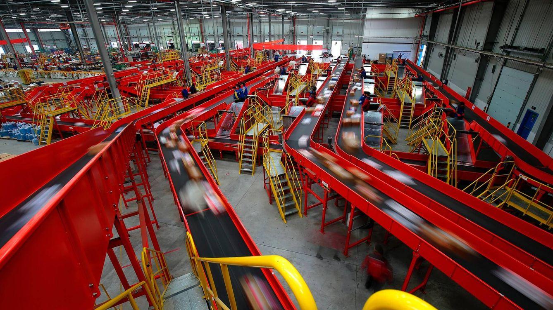 Foto: Uno de los centros logísticos de JD. (Foto: JD)