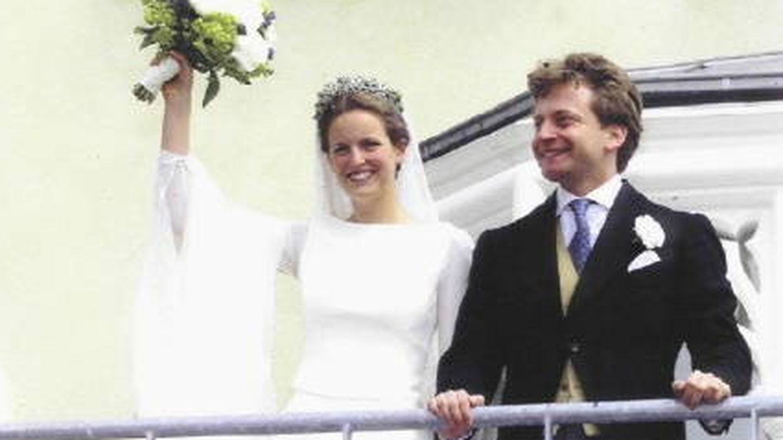 La boda de Filippa y Vittorio. (Sayn-Wittgenstein)