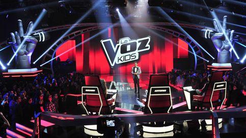 'La Voz Kids' impresiona con un 24,4% y noquea a 'Maestros de la costura'
