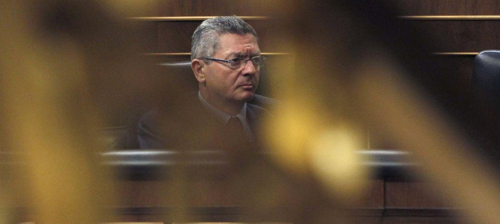 Foto: El ministro de Justicia, Alberto Ruiz Gallardón. (EFE)