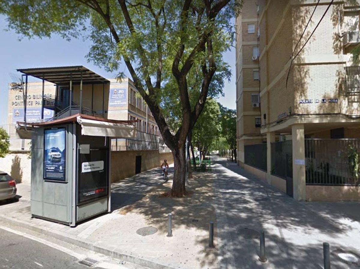 Foto: Alrededores del colegio 'Pontífice Pablo VI'. (Google Maps)