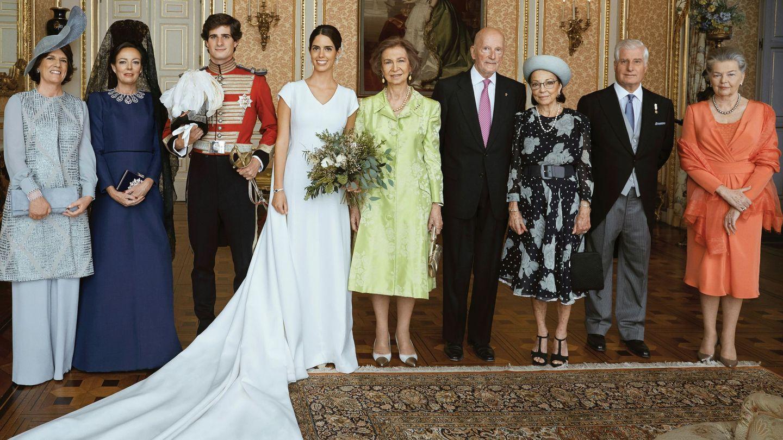 La boda del duque de Huéscar volvió a reunir a sus padres. (EFE)