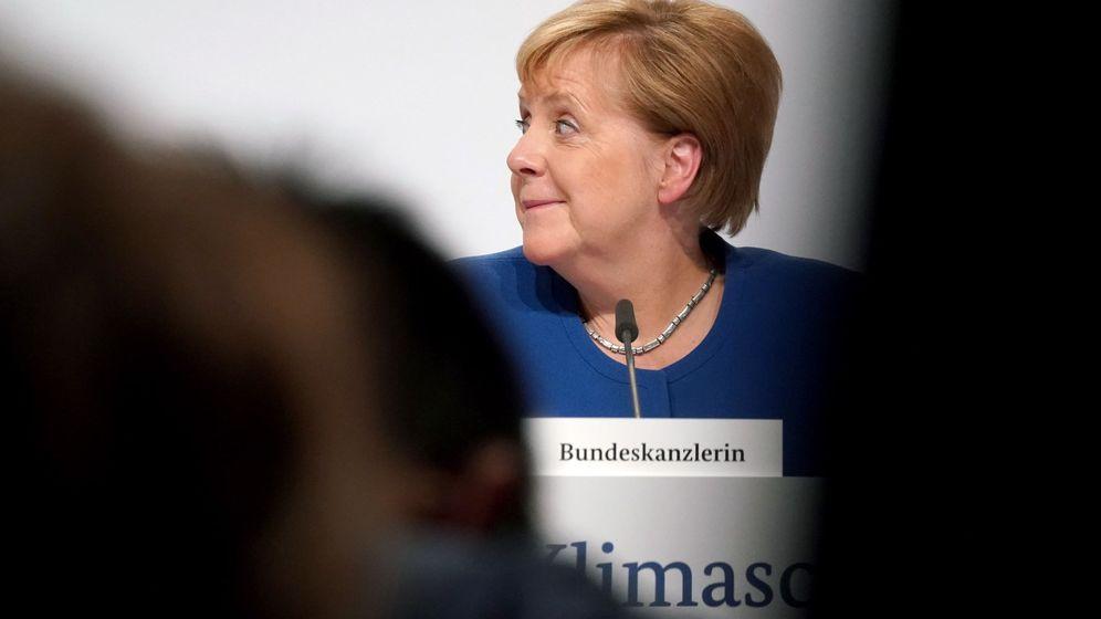 Foto: La canciller alemana, Angela Merkel, ante la prensa. (Reuters)