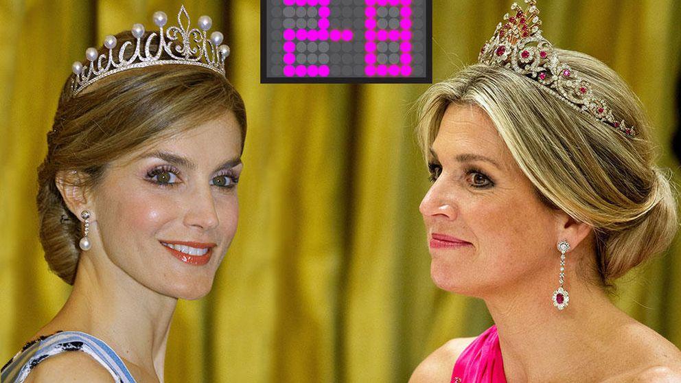 Duelo de tiaras en las monarquías europeas: Máxima 8 - Letizia 2