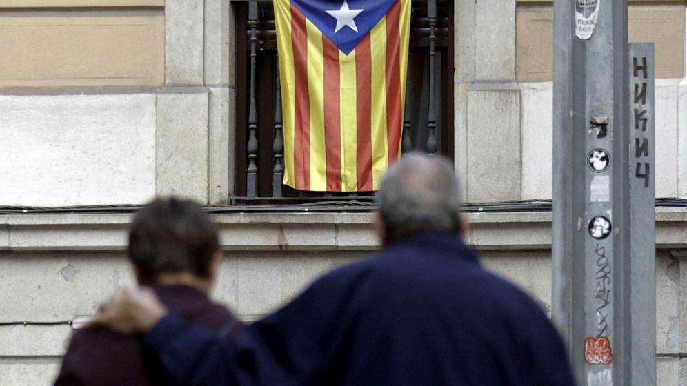 Foto: Una 'estelada' en una calle de Barcelona. (Reuters)