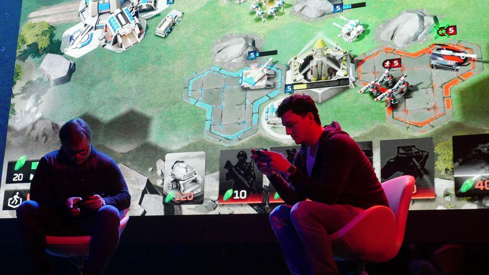 Foto: Una de las conferencias celebradas en el E3. (Efe)
