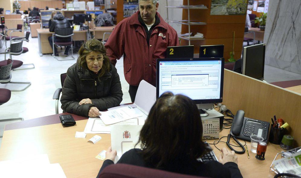 Foto: Una oficina de empleo, en Valladolid. (EFE)